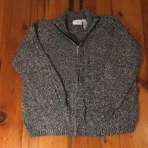 Liz Claiborne Sport Cardigan Sweater L